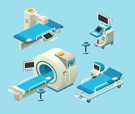 الأجهزة التشخيصية ، الألترا ساوند ، الرنين المغناطيسي