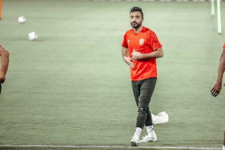 لاعب الأهلي محمود وحيد