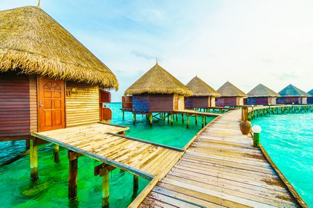 صورة , المالديف , منتجعات المالديف