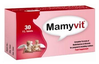صورة , عبوة , دواء , أقراص , مكمل غذائي , مامي فيت , Mamyvit
