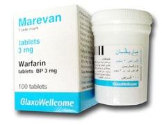 صورة , عبوة , دواء , ماريفان , Marevan