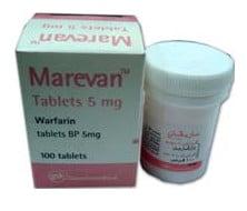 صورة , عبوة , دواء , أقراص , ماريفان , Marevan