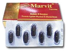صورة , عبوة , دواء , كبسولات , مارفيت , Marvit