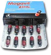 صورة , عبوة , دواء , كبسولات , ميجافيت زنك , Megavit Zinc