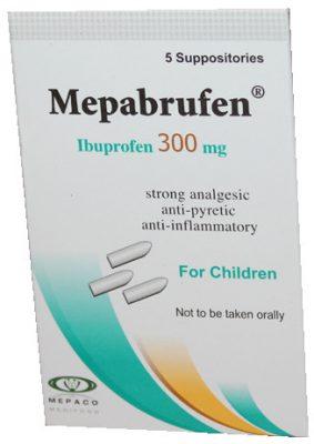 صورة, عبوة, ميبابروفين, Mepabrufen