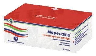 صورة, عبوة, ميبيكايين, Mepecaine