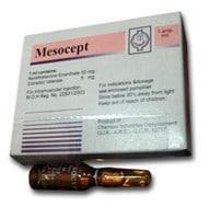 صورة , عبوة , دواء , أمبولات , ميزوسيبت , Mesocept
