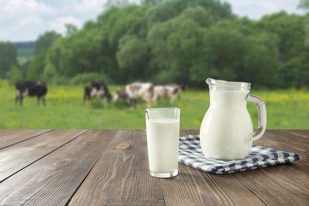 صورة , لبن , الحليب البقري