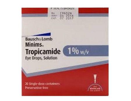 صورة , عبوة , دواء , مينيمس تروبيكامايد , Minims tropicamide