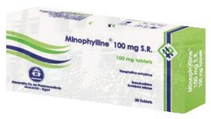 صورة, عبوة , مينوفيللين أس أر , Minophylline S.R