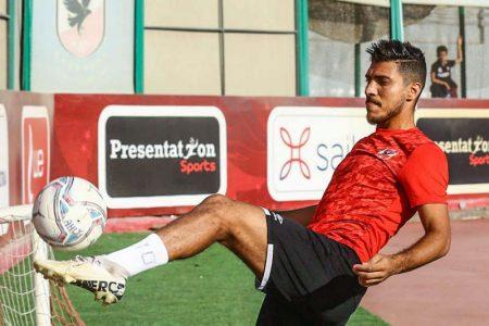 صور محمد شريف, لاعب النادي الأهلي