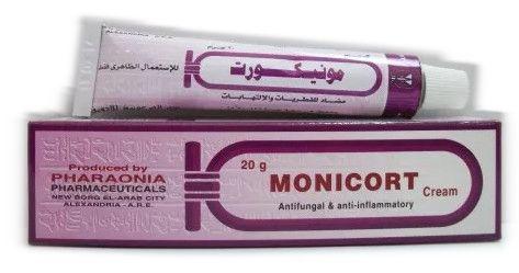 صورة,دواء,علاج, عبوة, مونيكورت , كريم , Monicort , cream