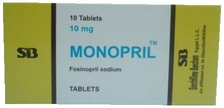 صورة, عبوة ,مونوبريل, Monopril