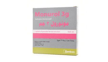 دواء مونورول ، صورة Monurol