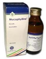 صورة , عبوة , دواء , ميوكوفللين , Mucophylline, شراب