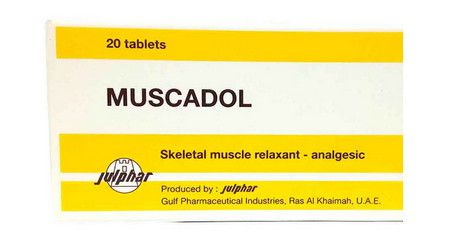 صورة , عبوة , دواء , مسكادول , Muscadol