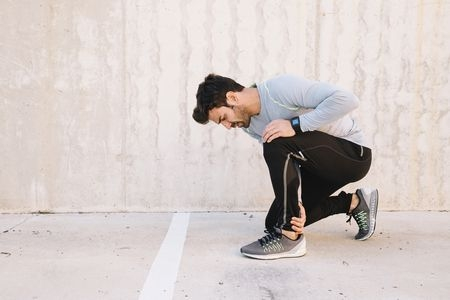 صورة , ممارسة الرياضة , الشد العضلي