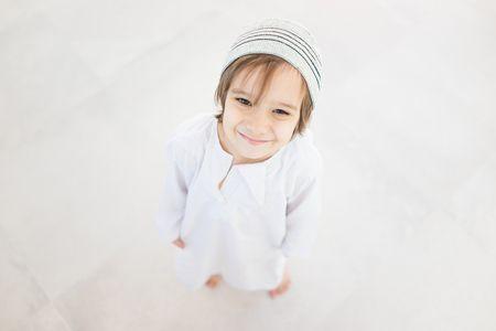 صورة , طفل , مسلم , قيم الصدق