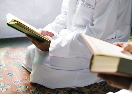 صورة , مسلم , وقت الفراغ , قراءة القرآن