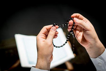صورة , الاستغفار , الصلاة على النبي , مسلم , مسبحة