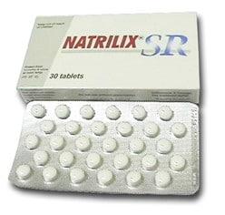 صورة , عبوة , دواء , أقراص , ناتريليكس إس آر , Natrilix SR