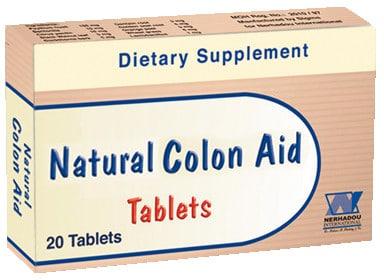 صورة, عبوة, ناتشيورال كولون أيد, Natural Colon Aid