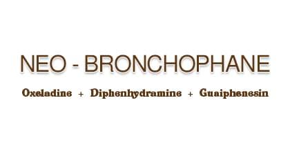 صورة, عبوة, نيو برونكوفين, Neo Bronchophane