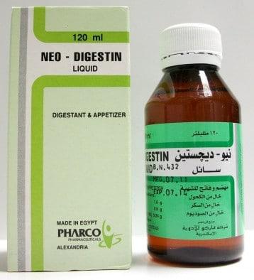 صورة , عبوة , دواء , نيو ديجستين , Neo-Digestin