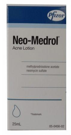 صورة , عبوة , دواء , مستحلب , لعلاج حب الشباب , نيئو مدرول , Neo-Medrol