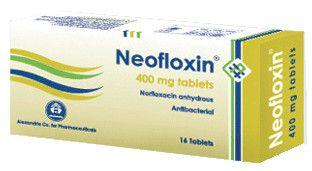 صورة,دواء,علاج, عبوة , نيوفلوكسين , Neofloxin , نورفلوكساسين, Norfloxacin