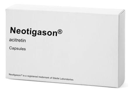 صورة , عبوة , دواء , كبسولات , لعلاج الصداف , نيوتيجزون , Neotigason