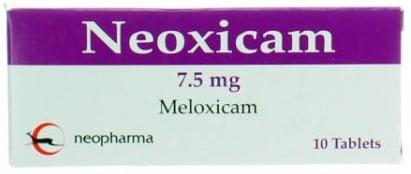 صورة,دواء, عبوة, نيوكسيكام, Neoxicam