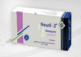صورة,عبوة, أقراص, نيوريل -2 ,Neuril -2