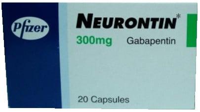 صورة, عبوة ,نيورونتين, Neurontin