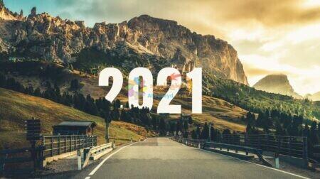 صورة جميلة للعام الجديد 2021