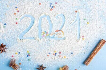 صورة 2021 بالثلج