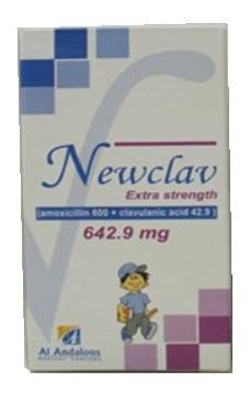 صورة,دواء,علاج, عبوة, نيوكلاف , Newclav