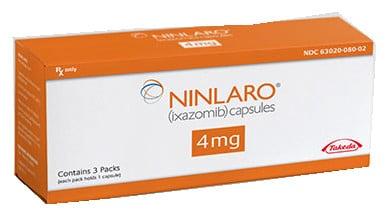 صورة , عبوة , دواء , كبسولات , مضاد للأورام السرطانية , نينلارو , Ninlaro