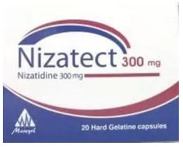 صورة, عبوة, نيزاتيكت, Nizatect