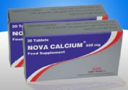 صورة,دواء,علاج, عبوة ,نوفا كالسيوم, Nova Calcium