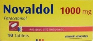 صورة , عبوة , دواء , أقراص , نوفالدول , Novaldol