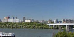 السياحة في مدينة نوفوسيبيرسك الروسية