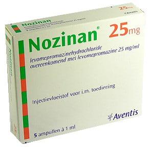 صورة , عبوة , دواء , أقراص مطلية , مهدئ للأعصاب , نوزينان , Nozinan