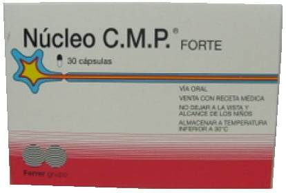 صورة, عبوة, نيوكليو سي ام بي فورت, Nucleo CMP Forte