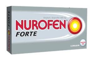 صورة , عبوة , دواء , أقراص , لتسكين الآلام , نوروفن فورت , Nurofen-Forte