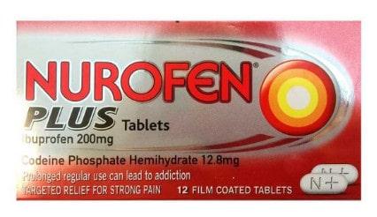 صورة ، عبوة ، دواء ، أقراص ، لتسكين الألم الحاد ، نوروفين بلس ، Nurofen-Plus