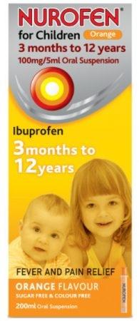 صورة,دواء,علاج, عبوة, نورفن للأطفال , Nurofen for Children