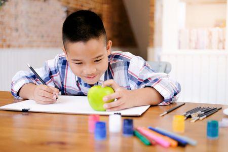 صورة , مهارات الطفل , الرسم