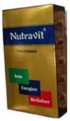 صورة , عبوة , دواء , كبسولات , مقو عام , نيوترافيت , Nutravit