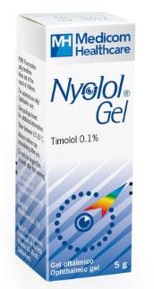 صورة , عبوة , دواء , جل للعينين , لعلاج الجلوكوما , نيولول جل , Nyolol-Gel